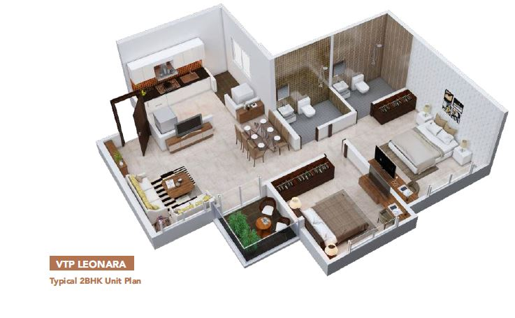 VTP Blue Waters Floor Plan